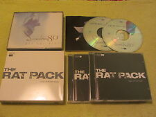 Sinatra 80th All The Best & The Rat Pack One For My Baby 2 Albums 4 CDs Sammy D