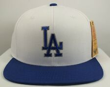 LOS ANGELES DODGERS MLB VINTAGE SNAPBACK CAP WHITE/BLUE NEW HAT AMERICAN NEEDLE