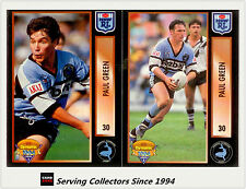 1994 Dynamic Rugby League Series 2 Trading Card Paul Green CORRECTION CARD