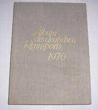 Album des deutschen Rennsports 1970 Pferderennen Pferde !
