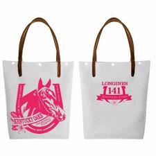 Official 141st Kentucky Oaks 2015 Tote Bag, Horse Bright Pink Breast Cancer Org