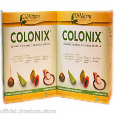 2 Two Sets Dr Natura Colonix Advanced Intestinal Body Colon Cleanse Programs New