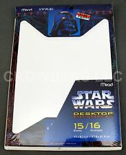 Star Wars Desktop Stationery Kit Mead Darth Vader 15 Sheets 16 Envelopes '96 NIP