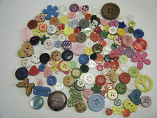 JOB LOT - Assorte PACK OF 150+ Assorted Buttons - Crafts scrapbooking, cards NEW