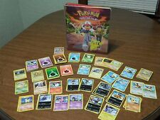 Vintage Pokemon Binder 3 Ring Gotta Catch 'em All! & 190 Pokemon Cards Lot
