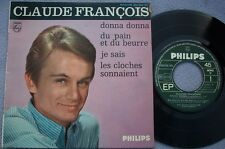 CLAUDE FRANCOIS Donna Donna FRANCE PHILIPS 7e SERIES EP Chanson 1960s POP VOCAL