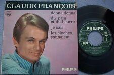 CLAUDE FRANCOIS Donna Donna FRANCE PHILIPS 7e SERIES EP Chanson 1960s POP VOCAL