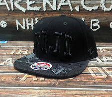 "Fiji ""Super Star"" Zephyr Adjustable Snapback - Black"
