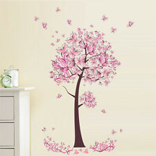 US Removable Flower Tree Art Vinyl DIY Wall Sticker Decal Mural Home&Room Decor