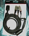 OFFICIAL SONY PS1 PS2 PS3 3 Mtr / 10 Ft S-Video GOLD Cable Lead TV AV Connection