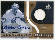 05/06 SP GAME USED OLDTIMERS AUTOGRAPH JERSEY #OCABB Bob Bourne #87/100
