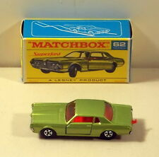 DTE MATCHBOX SUPERFAST TRANSITIONAL 62 MERCURY COUGAR NIOB