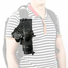 Movo Photo MB200 Universal DSLR/SLR Camera Holster System for Backpack/Camelbak