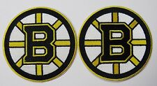 "LOT OF (2) HOCKEY BOSTON BRUINS  (3 1/2"" ROUND) PATCH PATCHES TYPE B ITEM # 72"