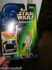 STAR WARS POWER OF THE FORCE FREEZE FRAME PRINCESS LEIA W/ BLASTER, NEVER OPENED