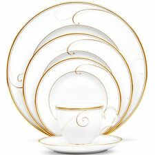 Noritake China Golden Wave 60Pc China Set, Service for 12
