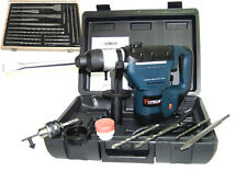 "1-1/2"" ELECTRIC DEMOLITION HAMMER DRILL 1.5 HP + 17 PC SDS DRILL BITS TOOL KIT"