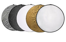 "60cm 24"" Light Mulit Collapsible Reflector Photography"