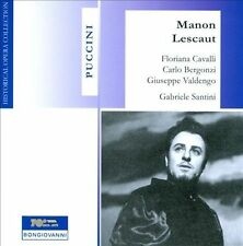 Puccini: Manon Lescaut - Bergonzi, Cavalli, Valdengo, New Music