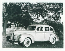 Ford 1939 V8 Old Black and White Photograph Excellent Condition