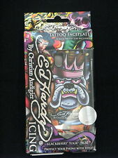 Ed Hardy Icing Blackberry Tour 9630 King Dog Faceplate & Screen Protector New IB