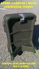 APOBS Plastic Tote Military Backpack Rucksack - Air & Water Tight!
