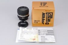 =MNT in Box= Nikon Ai-S AIS Nikkor 28mm f/2.8 Wide Angle MF Lens from Japan #n06
