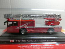Feuerwehr Del Prado 180 Nikki Sky Action Ladder 2003 Japan (068/16)