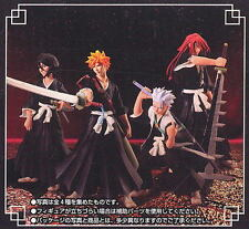 Bleach Styling Characters Part 1 Set of 4 Figure Gashapon Bandai Ichigo Kurosaki