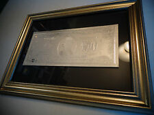 Usa - 2 Dollar New Silver Bill - Each In Nice Frame - Great Collectible Gift!