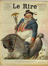 Le Rire n°511 - 1928 - Journal humoristique - Léandre - Dubout - Zislin - Lissac