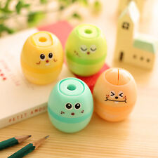 Cute Kawaii Professional Pencil Sharpener Manual Stationary School Supplies