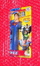 Pez  Superman on SHORT Justice League Card