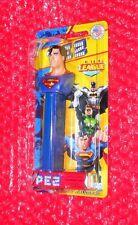 Pez  Superman on SHORT Justice League Card