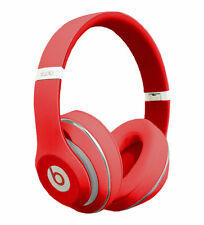 Genuine Beats by Dr. Dre Studio Wired Headband Headphones - Red MH7V2AM/A