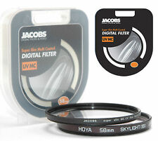 Jacobs Super slim UV Multi Coated MC filter 58mm for nikon canon sony        NEW