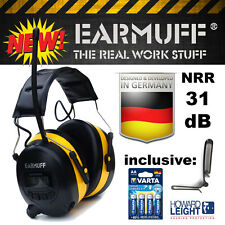 "B-Box 31db original ""Ear-mon chien"" radio protection auditive casque + smartphone port"