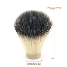 21*70mm Synthetic Nylon Shaving Brush Knot Head Salon Barber Tool Antimicrobial