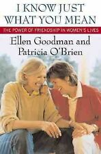 I Know Just What You Mean: The Power of Friendship in Women's Lives, O'Brien, Pa