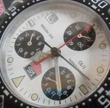 S/S Men's TAG Heuer Formula 1 Panda Chronograph CA1212 200M Swiss Quartz Watch