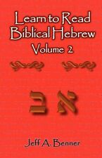**NEW** - Learn to Read Biblical Hebrew Volume 2 (Paperback) 1602649057