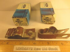 """2 PCS IN 2 FORD BOXES  """"CLIP""""  PART 389197-S NOS FREE SHIPPING"""