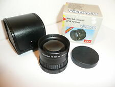 VIVANCO DIGITAL 2X TELECONVERSION LENS , FITS 37mm FILTER THREADS