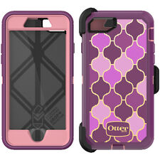 ORIGINAL AUTHENTIC OTTERBOX DEFENDER CASE AND HOLSTER FOR IPHONE 7 - ARABESQUE