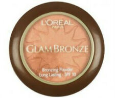 L'Oreal Glam Bronze Bronzing Powder Long Lasting SPF 10 11g 01 Golden Sun