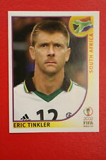 PANINI KOREA JAPAN 2002 # 164 SOUTH AFRICA TINKLER WITH BLACK BACK MINT!!!