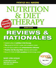 Prentice Hall Reviews and Rationales: Nutrition and Diet Therapy by Hogan & CD