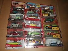 Disney Pixar CARS lot of 15 MIP includes Chase cars (#4)