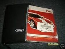 2005 FORD GT GT40 ORIGINAL OWNERS MANUAL KIT W CASE NOS