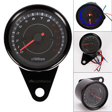 13000 RMP Universal LED Backlight Tachometer Tacho Gauge Speedometer Motorcycle